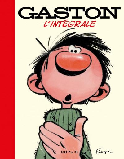 Couverture Gaston - intégrale (réédition 2018)