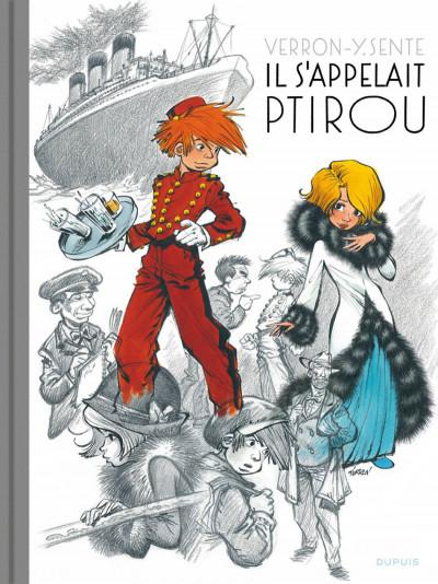 Couverture Spirou et Fantasio vu par... - édition prestige tome 12 - il s'appelait Ptirou
