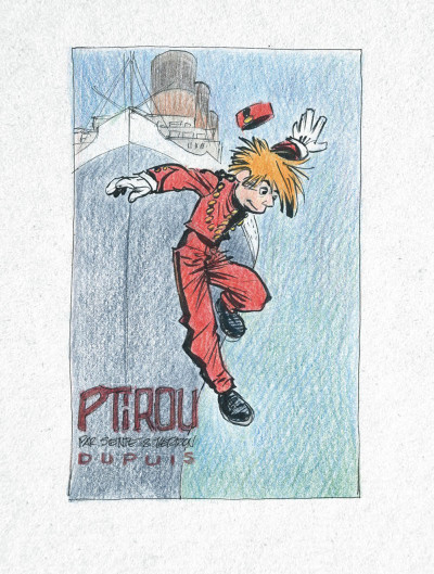 Page 2 Spirou et Fantasio vu par... - édition prestige tome 12 - il s'appelait Ptirou