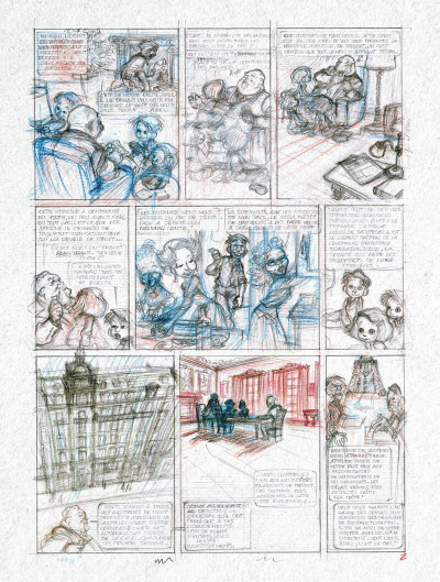 Page 4 Spirou et Fantasio vu par... - édition prestige tome 12 - il s'appelait Ptirou