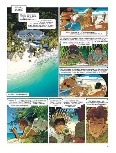 Page 5 Largo Winch tome 21 - l'étoile du matin (édition documentée)