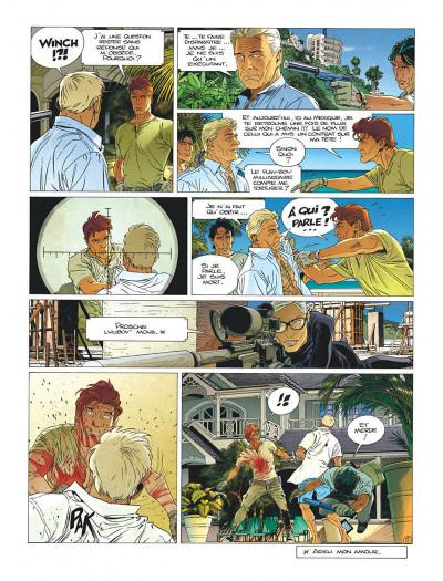 Page 7 Largo Winch tome 21 - l'étoile du matin (édition documentée)