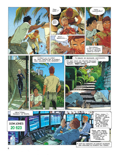 Page 8 Largo Winch tome 21 - l'étoile du matin (édition documentée)