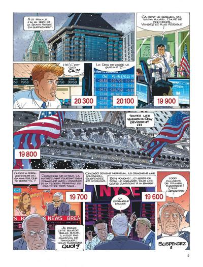 Page 9 Largo Winch tome 21 - l'étoile du matin (édition documentée)