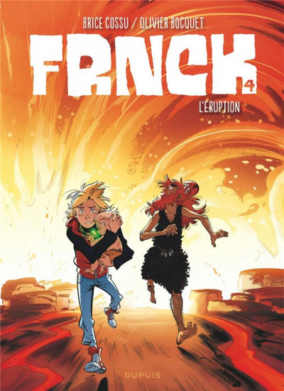 Couverture Frnck tome 4