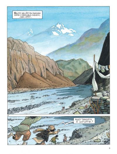 Page 9 Les chevaux du vent - intégrale