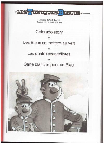 Page 1 Les Tuniques bleues (Rombaldi) tome 15