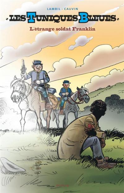 Couverture Les tuniques bleues tome 61 (grand format n&b)