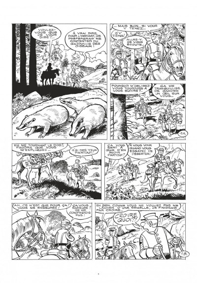 Page 9 Les tuniques bleues tome 61 (grand format n&b)