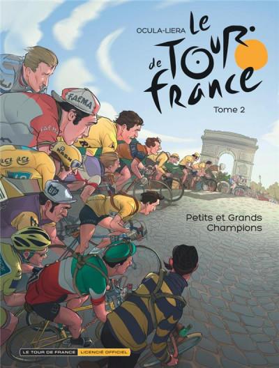 Couverture Le tour de France, la BD officielle tome 2