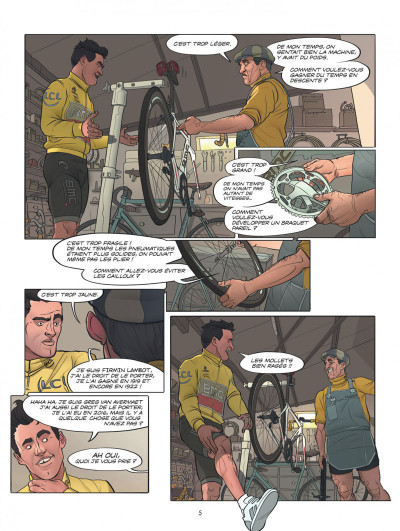 Page 5 Le tour de France, la BD officielle tome 2