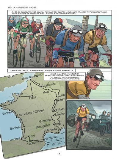 Page 6 Le tour de France, la BD officielle tome 2