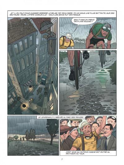 Page 7 Le tour de France, la BD officielle tome 2