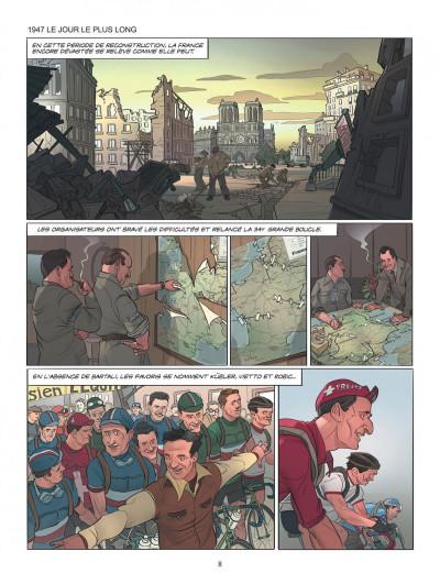 Page 8 Le tour de France, la BD officielle tome 2