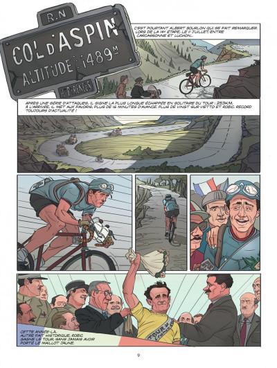 Page 9 Le tour de France, la BD officielle tome 2