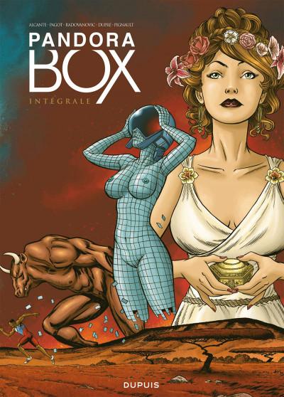 Couverture Pandora box - fourreau 2 tomes