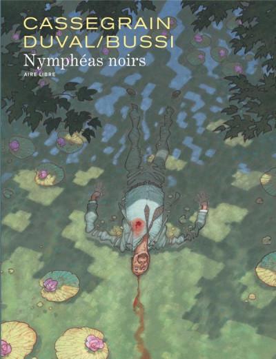 Couverture Nymphéas noirs + ex-libris offert