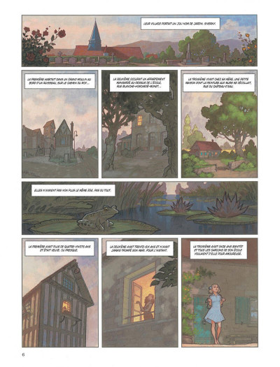 Page 6 Nymphéas noirs