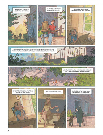 Page 8 Nymphéas noirs