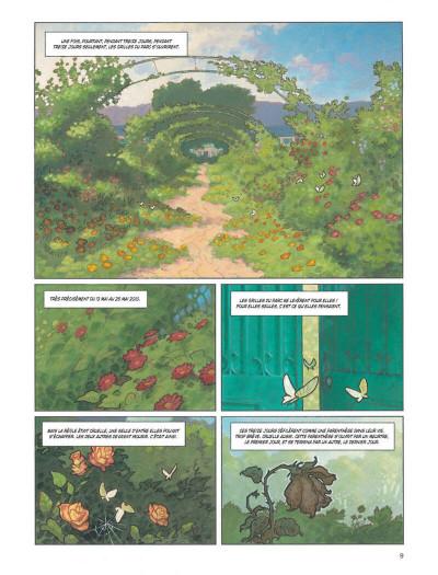 Page 9 Nymphéas noirs