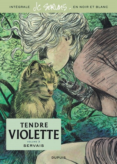Couverture Tendre Violette - intégrale n&b tome 3