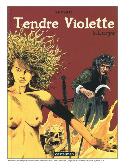 Page 2 Tendre Violette - intégrale n&b tome 3