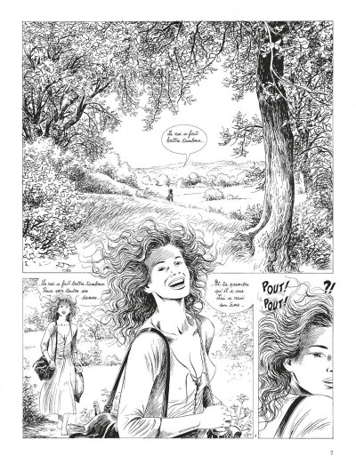 Page 7 Tendre Violette - intégrale n&b tome 3