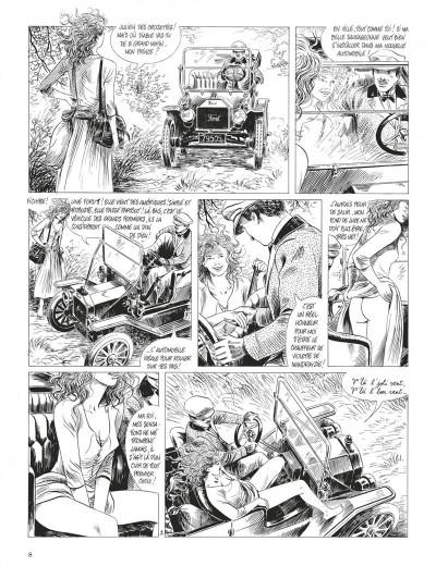 Page 8 Tendre Violette - intégrale n&b tome 3