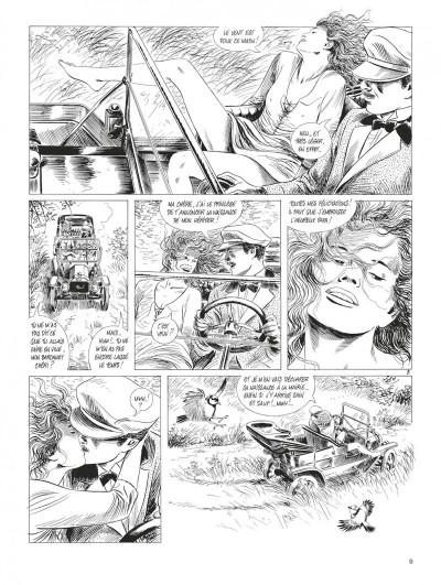 Page 9 Tendre Violette - intégrale n&b tome 3