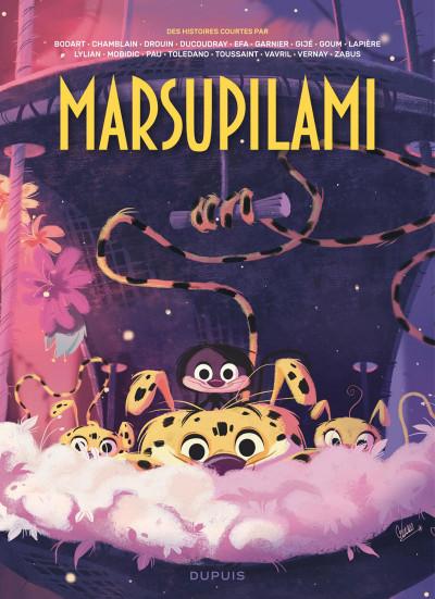 Couverture Des histoires courtes du Marsupilami par... tome 2