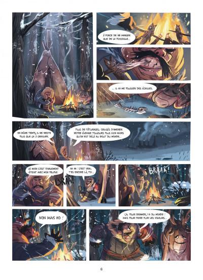 Page 5 Des histoires courtes du Marsupilami par... tome 2