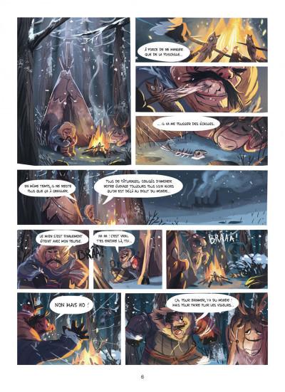 Page 6 Des histoires courtes du Marsupilami par... tome 2