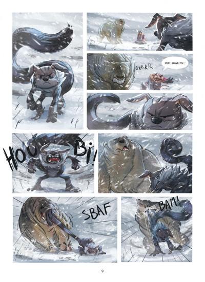 Page 9 Des histoires courtes du Marsupilami par... tome 2