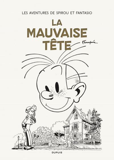 Couverture Spirou et Fantasio - tirage de tête version originale tome 22