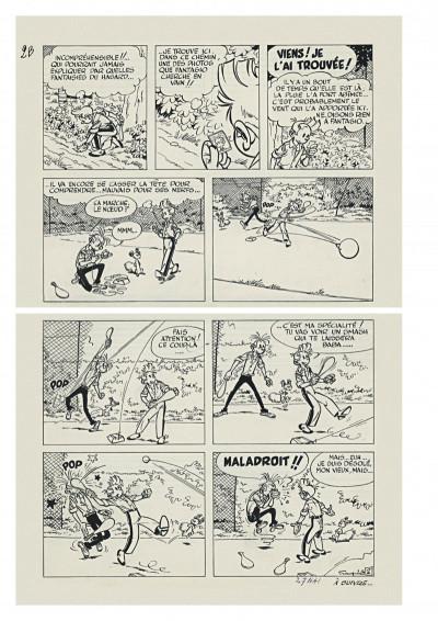 Page 5 Spirou et Fantasio - tirage de tête version originale tome 22