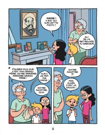 Page 4 Le fil de l'Histoire raconté par Ariane & Nino tome 3 - les Gaulois - sacrés ancêtres !