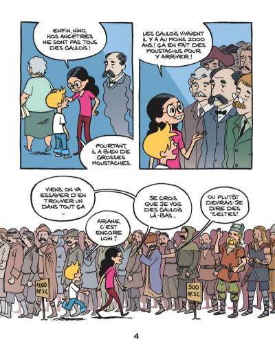 Page 5 Le fil de l'Histoire raconté par Ariane & Nino tome 3 - les Gaulois - sacrés ancêtres !