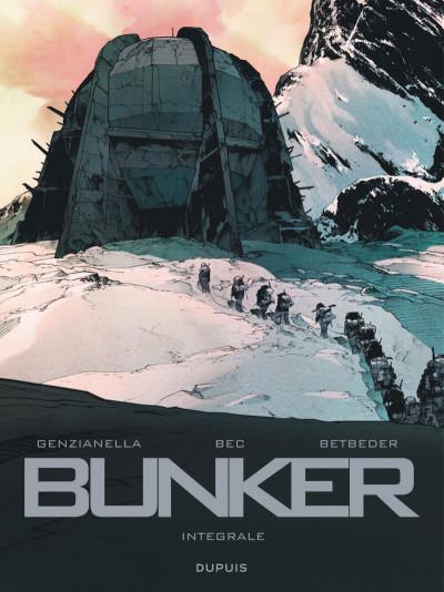 Couverture Bunker - intégrale
