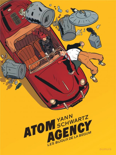 Couverture Atom agency tome 1