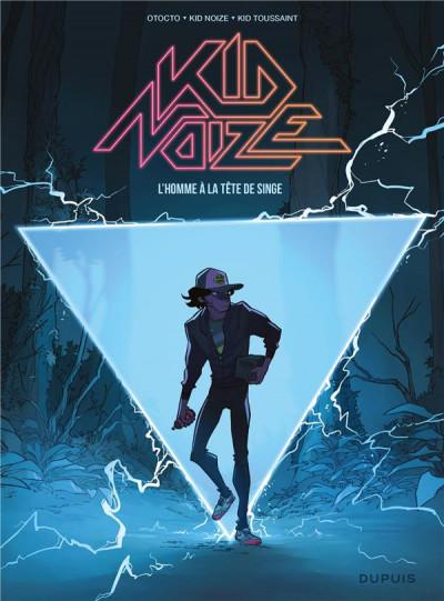 Couverture Kid Noize tome 1 - L'homme à la tête de singe