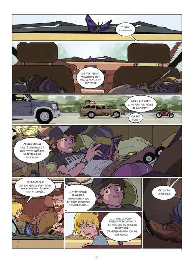 Page 4 Kid Noize tome 1 - L'homme à la tête de singe