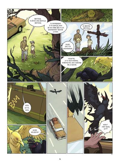 Page 5 Kid Noize tome 1 - L'homme à la tête de singe