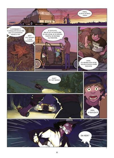 Page 7 Kid Noize tome 1 - L'homme à la tête de singe