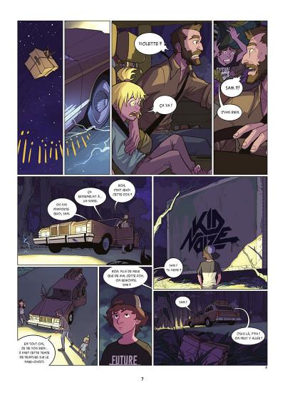 Page 8 Kid Noize tome 1 - L'homme à la tête de singe
