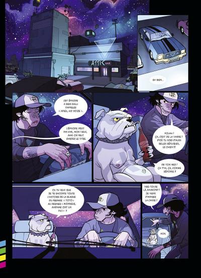 Page 9 Kid Noize tome 1 - L'homme à la tête de singe