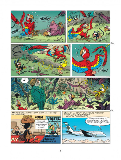 Page 7 Marsupilami tome 31