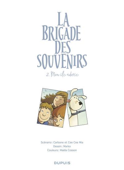 Page 1 La brigade des souvenirs tome 2