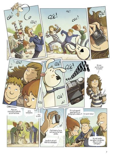 Page 7 La brigade des souvenirs tome 2