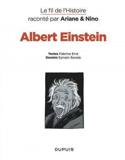 Page 3 Le fil de l'Histoire raconté par Ariane & Nino tome 1 - Albert Einstein - un physicien de génie