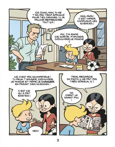 Page 5 Le fil de l'Histoire raconté par Ariane & Nino tome 1 - Albert Einstein - un physicien de génie
